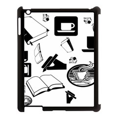 Books And Coffee Apple Ipad 3/4 Case (black) by StuffOrSomething