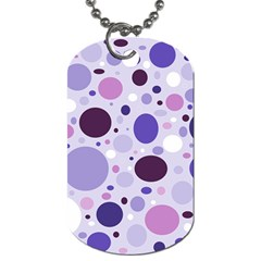 Passion For Purple Dog Tag (one Sided) by StuffOrSomething