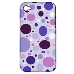 Passion For Purple Apple Iphone 4/4s Hardshell Case (pc+silicone) by StuffOrSomething