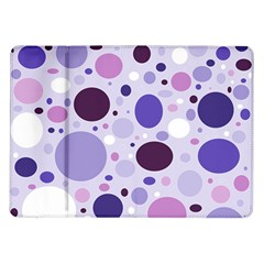 Passion For Purple Samsung Galaxy Tab 10 1  P7500 Flip Case by StuffOrSomething