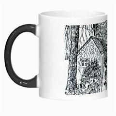 castle Yard In Winter  By Ave Hurley Of Artrevu   Morph Mug by ArtRave2