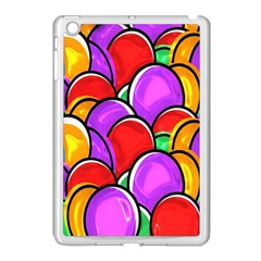 Colored Easter Eggs Apple Ipad Mini Case (white) by StuffOrSomething