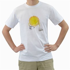 Spring Cleaning Men s T Shirt (white)  by Contest1897106