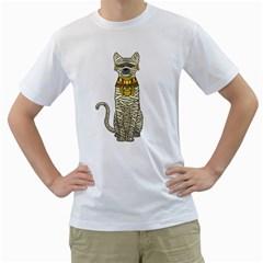 Ancient Cat Return Men s T Shirt (white)  by Contest1836099