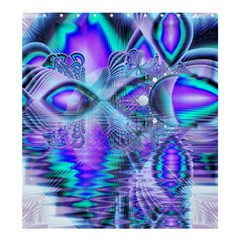 Peacock Crystal Palace Of Dreams, Abstract Shower Curtain 66  X 72  (large) by DianeClancy