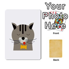 Study Card By Divad Brown   Playing Cards 54 Designs   Vhjlowwbh5l1   Www Artscow Com Front - Spade5