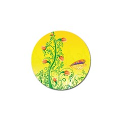 Whimsical Tulips Golf Ball Marker 10 Pack by StuffOrSomething