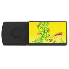 Whimsical Tulips 4gb Usb Flash Drive (rectangle) by StuffOrSomething