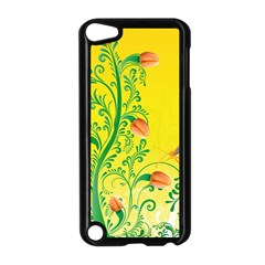 Whimsical Tulips Apple Ipod Touch 5 Case (black) by StuffOrSomething