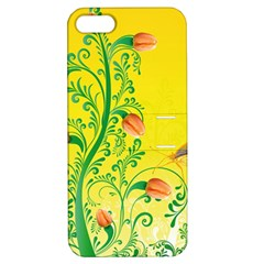 Whimsical Tulips Apple Iphone 5 Hardshell Case With Stand by StuffOrSomething