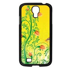 Whimsical Tulips Samsung Galaxy S4 I9500/ I9505 Case (black) by StuffOrSomething