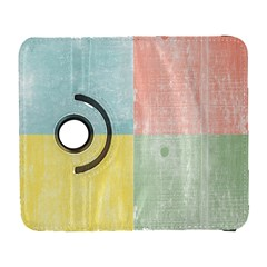 Pastel Textured Squares Samsung Galaxy S  Iii Flip 360 Case by StuffOrSomething