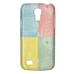 Pastel Textured Squares Samsung Galaxy S4 Mini (gt I9190) Hardshell Case  by StuffOrSomething