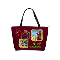 Spring Shoulder Handbag #2 By Joy Johns   Classic Shoulder Handbag   96e9l21rhhwx   Www Artscow Com Front
