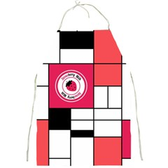 Strawberry Piet Mondrian Apron by strawberrymilk