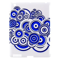Trippy Blue Swirls Apple Ipad 3/4 Hardshell Case (compatible With Smart Cover) by StuffOrSomething