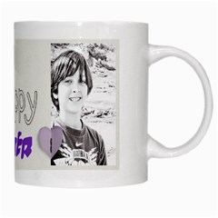 White Mug By Deca   White Mug   Uecctru3p8bu   Www Artscow Com Right