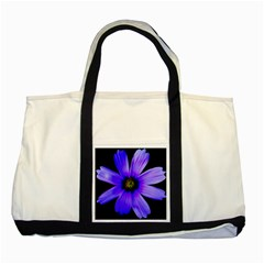 Purple Bloom Two Toned Tote Bag by BeachBum