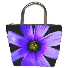 Purple Bloom Bucket Handbag by BeachBum