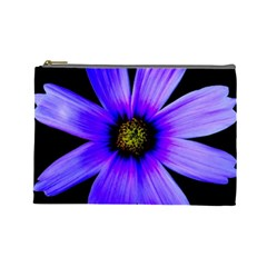Purple Bloom Cosmetic Bag (large) by BeachBum