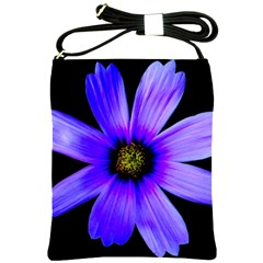 Purple Bloom Shoulder Sling Bag by BeachBum