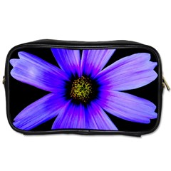 Purple Bloom Travel Toiletry Bag (one Side) by BeachBum