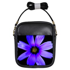 Purple Bloom Girl s Sling Bag by BeachBum