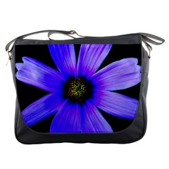 Purple Bloom Messenger Bag by BeachBum