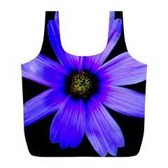 Purple Bloom Reusable Bag (l) by BeachBum