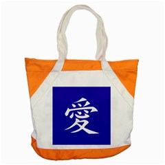 Love In Japanese Accent Tote Bag by BeachBum