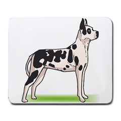 Great Dane Large Mousepad by blondedesigns