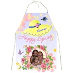 Happy Spring Apron #3 - Full Print Apron