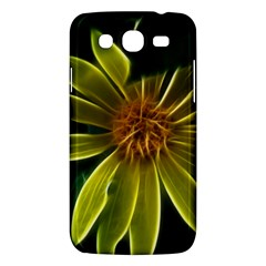 Yellow Wildflower Abstract Samsung Galaxy Mega 5 8 I9152 Hardshell Case  by bloomingvinedesign