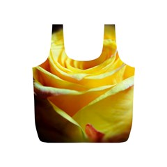 Yellow Rose Curling Reusable Bag (s) by bloomingvinedesign