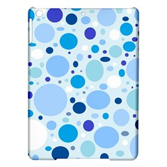 Bubbly Blues Apple iPad Air Hardshell Case by StuffOrSomething