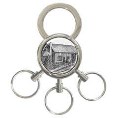 Sugarcreek ` Ave Hurley   Artrave    3 Ring Key Chain