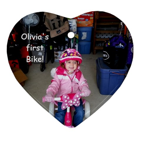 Olivia By Lee   Ornament (heart)   Voq7fk7490pb   Www Artscow Com Front