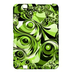 Retro Green Abstract Kindle Fire Hd 8 9  Hardshell Case by StuffOrSomething