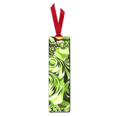 Retro Green Abstract Small Bookmark by StuffOrSomething
