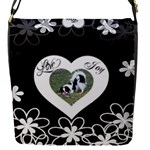 Love Flowers removable flap cover - Removable Flap Cover (S)