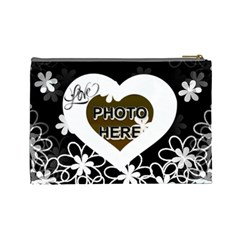 Love Large Cosmetic Bag #2 By Joy Johns   Cosmetic Bag (large)   Ev7zfpuviyld   Www Artscow Com Back