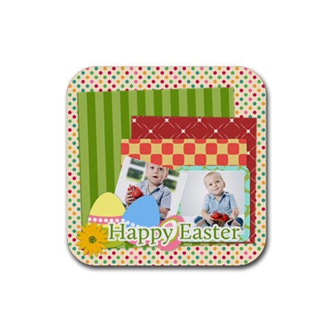 Easter By Easter   Rubber Coaster (square)   59zidgx1ky8s   Www Artscow Com Front