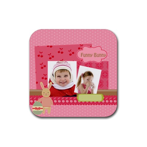 Easter By Easter   Rubber Coaster (square)   Fy23svc6an7v   Www Artscow Com Front