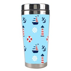 Sailing The Bay Stainless Steel Travel Tumbler by StuffOrSomething