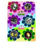 flower collage flap, large - Removable Flap Cover (L)
