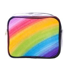 Acrylic Rainbow Mini Travel Toiletry Bag (One Side) by StuffOrSomething
