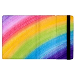 Acrylic Rainbow Apple Ipad 3/4 Flip Case by StuffOrSomething