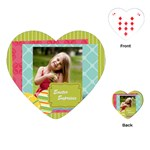 easter - Playing Cards (Heart)