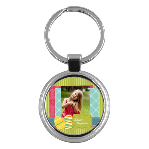 Easter By Easter   Key Chain (round)   36zseg0ldu27   Www Artscow Com Front