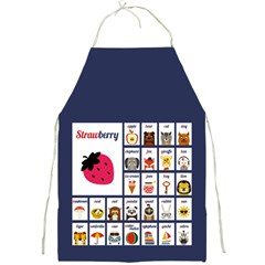 Abc Apron (blue) by strawberrymilk
